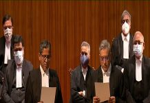 Chief-Justice-of-India-administers-Oath-of-Office-to-the-nine-Judge-Designates